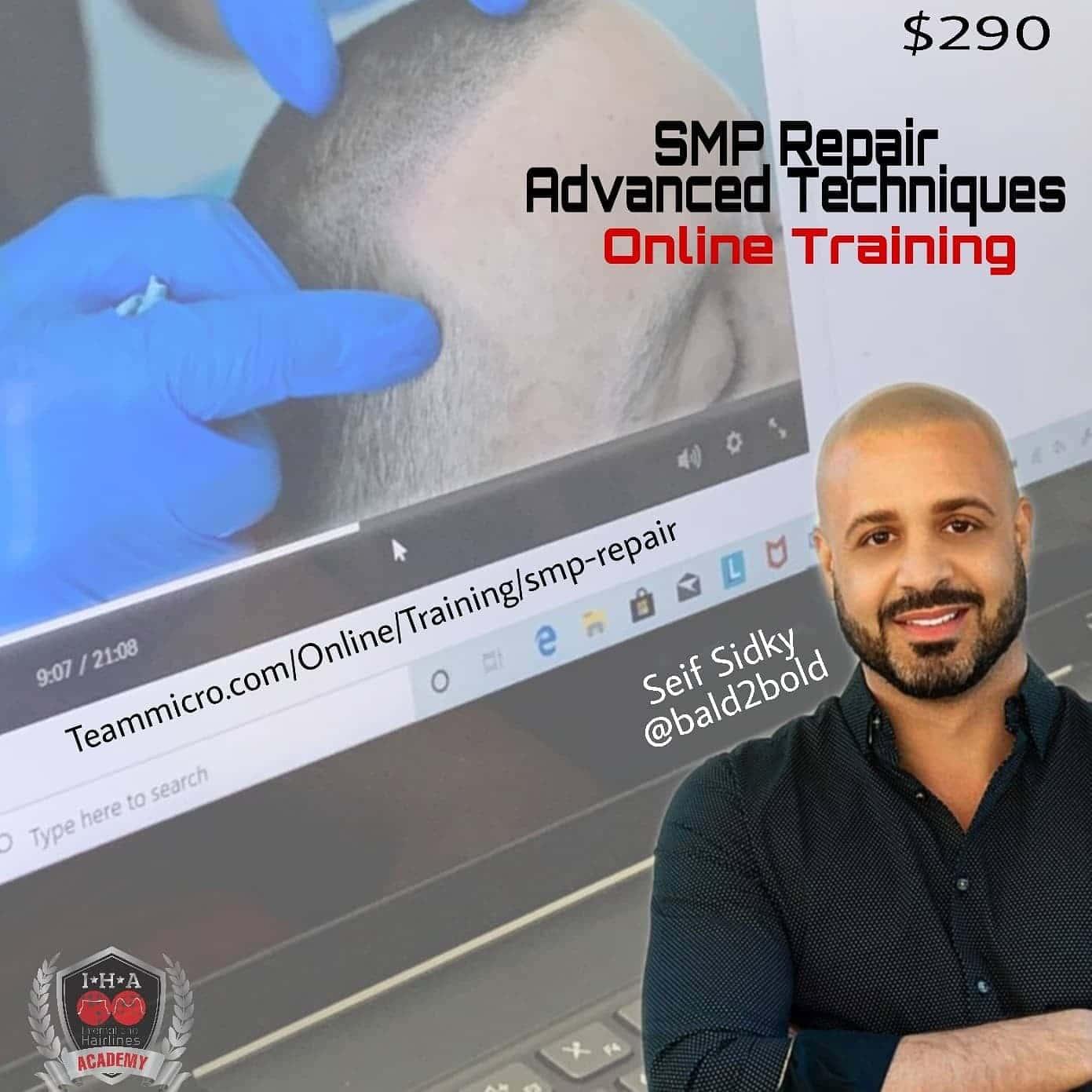 scalp micropigmentation repair training course